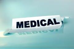 принципиальная схема медицинская Стоковая Фотография RF