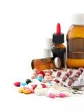 Принципиальная схема медицины стоковые фото