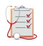 Принципиальная схема медицинского соревнования Стоковое фото RF