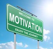 Принципиальная схема мотивировки. Стоковое Фото