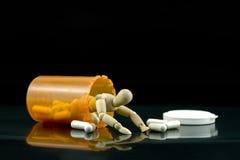 принципиальная схема наркомании Стоковая Фотография RF