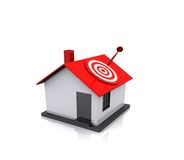 Принципиальная схема недвижимости Стоковые Фотографии RF