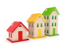 Принципиальная схема недвижимости. Стоковые Фото