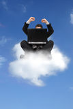 принципиальная схема облака вычисляя Стоковые Изображения