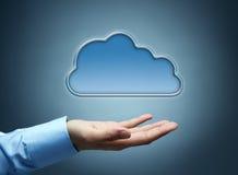 принципиальная схема облака вычисляя Стоковые Фото