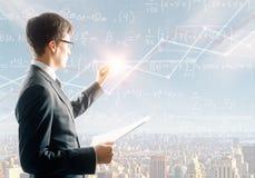 Принципиальная схема образования и знания стоковая фотография rf