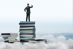 Принципиальная схема образования и знания стоковое фото
