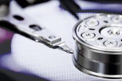 Принципиальная схема подпорки хранения данным по жёсткия диска Стоковые Изображения