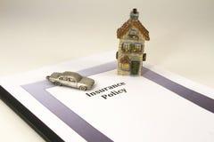 Принципиальная схема политики владельцев дома Стоковые Фото