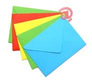 Принципиальная схема представляя электронную почту Стоковая Фотография