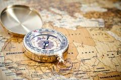 Принципиальная схема путешествием Стоковые Фотографии RF