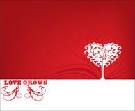 принципиальная схема растет влюбленность Стоковые Изображения