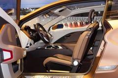 Принципиальная схема РЕНТГЕНОВСКОГО СНИМКА автомобиля LADA салона Стоковая Фотография