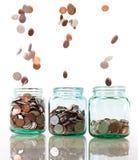 Принципиальная схема сбережений стоковые фотографии rf