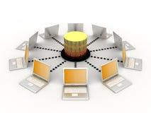 принципиальная схема связи Стоковое Изображение RF