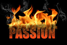 Принципиальная схема страсти Стоковые Фотографии RF