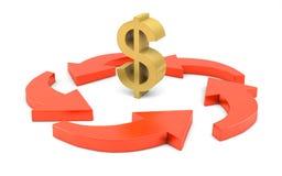 Принципиальная схема стратегии бизнеса Стоковая Фотография RF