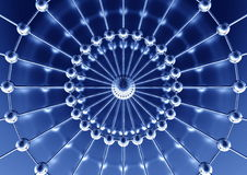 принципиальная схема структурная Стоковое Изображение RF