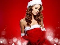 Принципиальная схема с Рождеством Христовым Стоковая Фотография RF