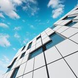 Принципиальная схема фасада Стоковое Изображение RF