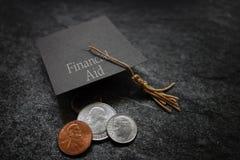 Принципиальная схема финансовой помощи Стоковое Изображение RF