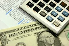 принципиальная схема финансовохозяйственная Стоковые Изображения RF
