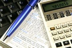 принципиальная схема финансовохозяйственная Стоковое Фото