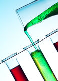 принципиальная схема химии Стоковые Фото