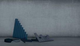 Принципиальная схема хозяйственного отказа бесплатная иллюстрация