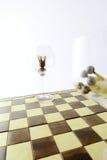 принципиальная схема шахмат Стоковое Фото
