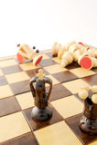 принципиальная схема шахмат Стоковая Фотография RF