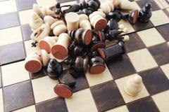 принципиальная схема шахмат Стоковая Фотография