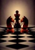 принципиальная схема шахмат Стоковое Изображение RF