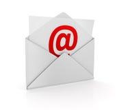 Принципиальная схема электронной почты Стоковая Фотография RF