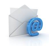 Принципиальная схема электронной почты Стоковое Фото