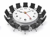 Принципиальная схема деловой встречи или метода мозгового штурма. 3d Стоковые Изображения