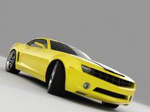 Принципиальная схема 2009 Chevrolet Camaro стоковая фотография
