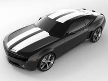 Принципиальная схема 2009 Chevrolet Camaro стоковое фото