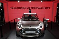 Принципиальная схема 2011 Rocketman â выставки мотора Женева МИНИАЯ Стоковое фото RF