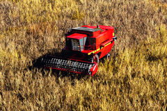 Принципиальная схема 3D жатки земледелия представляет 1 Стоковые Изображения
