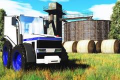 Принципиальная схема 3D земледелия представляет 1 Стоковые Изображения RF