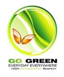 принципиальная схема backgroud идет зеленый цвет Стоковые Фотографии RF