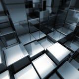 принципиальная схема cubes seriers Иллюстрация штока