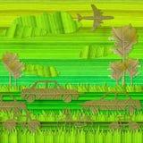 Принципиальная схема Eco зеленая Стоковые Фотографии RF