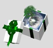 принципиальная схема ecofriendly Стоковое Изображение