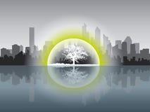 принципиальная схема ecologycal Стоковые Фото