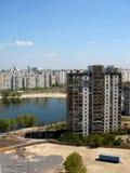 принципиальная схема kiev города стоковое изображение rf