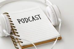 Принципиальная схема Podcast икона 3D стоковые фотографии rf