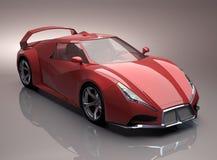 Принципиальная схема Supercar Стоковое фото RF