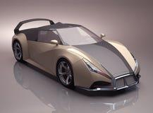 Принципиальная схема Supercar Стоковое Изображение RF